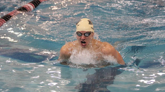 Swimmer going to olympic trials secv8 for Bloomsburg university swimming pool